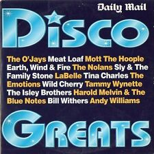 Various Artists –  Disco Greats, Daily Mail CD