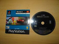 PS1 Playstation 1 - McDonalds - DEMO 1 Disc - Gran Turismo 2 Wip3out PAL