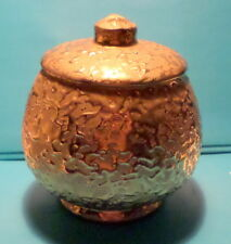 Avon China 24 Karat Gold Hand Decorated Covered Jar