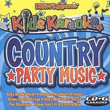 Kids Karaoke: Country Party Music  (Kid's Karaoke CD-G, 2003) NEW