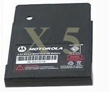 Motorola NEW OEM Minitor V Pager Battery RLN5707A Quantity 5 **Free Shipping**