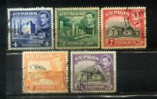 5 Cyprus Old Stamps Lot 3