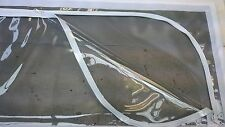 Jayco ,caravan, pop top, clear roof skirt window with  flywire , set of 4