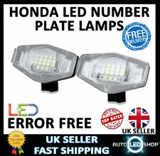 HONDA CIVIC 2006  SMD LED NUMBER LICENCE PLATE LIGHTS LAMPS UPGRADE BULBS