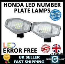 HONDA CITY 03-09 SMD LED NUMBER LICENCE PLATE LIGHTS LAMPS UPGRADE BULBS