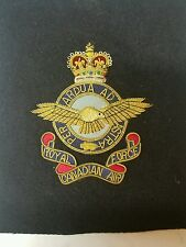 Royal Canadian Air Force Bullion Badge Military Patch