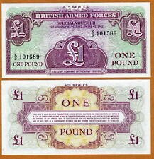 Great Britain, 1 Pound, Armed Forces, ND (1962), M36, UNC