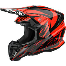 Casco Moto Cross Airoh Evil Orange Gloss 2016 TG S