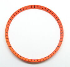 Orange SEIKO SKX007 Chapter Ring (minute track)- 7S26 mod part, BRAND NEW