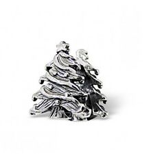 sterling silver 925 christmas tree charm bead