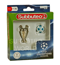 NEW SUBBUTEO CHAMPIONS LEAGUE TROPHY & BALL. PAUL LAMOND TABLE SOCCER - FOOTBALL