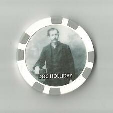 DOC HOLIDAY LAST KNOWN PHOTO 1887  WEST  COLLECTOR CHIP