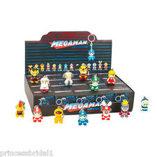 "Kidrobot Mega Man Keychain Series 1.5"" Figures Case - New - 20 Count - Megaman"