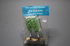 V750 Jordan Ho train decor arbre peuplier 80 mm 2 u années 70 Diorama vegetation