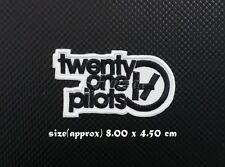 Twenty One Pilots 21 Sew On Patch Iron Embroidered Music Badge Logo Free Shippin