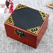 Vintage Square Black Cover Wind Up Music Box  : Elfen Lied - Lilium