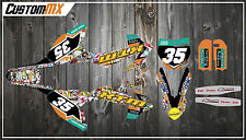 KTM SX50 SX65 Graphics Kit - Stickerbomb Series SX 50 SX 65 / Adventure / Junior