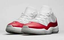 2016 Nike Air Jordan 11 XI Retro Low Cherry Red Size 13. 528895-405 1 2 3 4 5