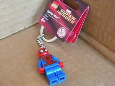 NEW Spider-Man LEGO KEY CHAIN MINI FIGURE MARVEL SPIDIE