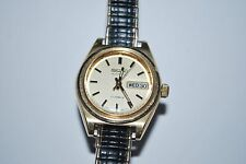 Vintage SEIKO Automatic Lady Watch Model 2906-0349 17 Jewels Works