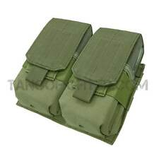 CONDOR 191089 MOLLE 7.62 308 Rifle Double Magazine Mag Pouch Close Flap OD Green