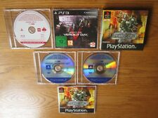 Armored Core PROMO COMPLETE SET – PS1 PS2 PS3 (5 x Promotional Games) & Bonus