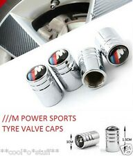 "329-BMW ""/// M""  TYRE TIRE ALLOY WHEEL AIR VALVE CAP Power SPORTS 3 Series LOGO"