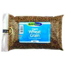 Organic Wheat Grain - 500g - Perfect for Sprouting, Cooking or Grinding