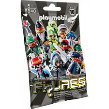 Playmobil 6840 Figures Series 10 Boys NEW SEALED Packet Wizard Archer Knight