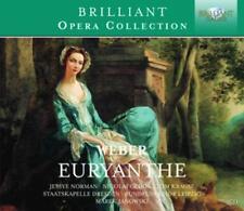 Weber,Carl Maria von: Norman/Gedda/Krause/+ - Euryanthe *3 CD*NEU*