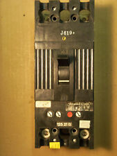 GE TFJ TFJ224125 2 pole 125 amp trip 480V CIRCUIT BREAKER BLACK FACE
