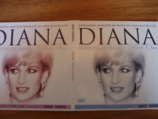 DIANA PRINCESS OF WALES PARTS 1 & 2  DEFINITIVE BIOGRAPHY - EXPRESS PROMO DVD