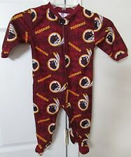 NFL Washington Redskins 18 Month Baby Footie Pajamas Super Cute