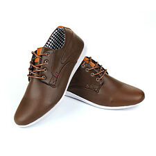Mens New Casual Black Leather Smart Formal Lace Up Shoes UK SIZE 7 8 9 10 11 12