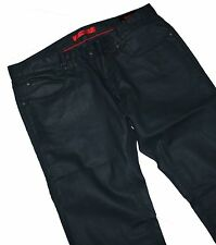 Hugo Boss 50263380 hugo 708 waxed Stretch slim fit dark blue jeans w34/l32