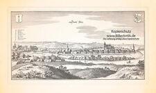Stadt Reetz Recz Neumark Westpommern Polen Marstall Klosterkirche Merian 0594