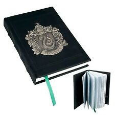 Wizarding World Harry Potter Deluxe Slytherin Metal Crest Journal