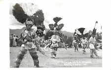 c1940s Real Photo PC; Danza De La Pluma, Oaxaca Oax, Mexico 12. Feather Dance