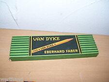 Hermosas vieja con contenido Eberhard Faber van Dyke 702 kopierstifte fondos