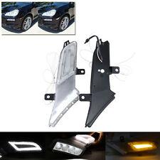 New Amber Led Side Marker Lights Lamps For 07-10 Porsche Cayenne Parking Lights