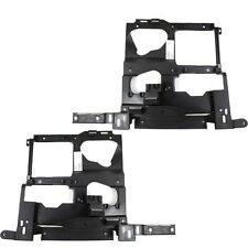 Chevrolet Silverado 99-02 Right & Left Pair Set Headlight Headlamp Brackets