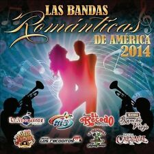Las Bandas Romantica 2014 by Various Artists (CD, 2014, Fonovisa) NEW Cracked
