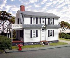 Branchline Trains Laser Art 617 HO Scale Oxford House Structure Kit
