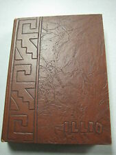 1949 University of Illinois Yearbook Champaign Urbana Hugh Hefner Playboy U of I