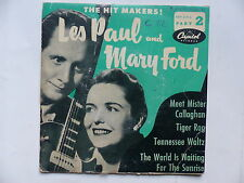 les paul and mary ford Mett Mister Callaghan  EAP 2 416
