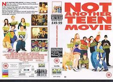 Not Another Teen Movie, Jaime Presly Video Promo Sample Sleeve/Cover #10331