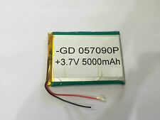 057090P BATTERY 5000 mAh   FOR TAB  TABLET DEVICE ETC. 90mm x 65mm