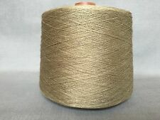QUALITY YARN CONE SINGLE PLY LINEN 44's MARSH GREEN COLOUR 1000g 20 BALLS