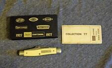 Craftsman Collection '77 Bowie Stock 95044 3-Blade Folding Knife NIB