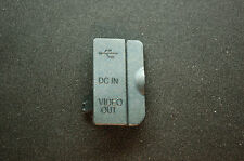 Nikon D80 Left Cover USB DC In Video Out cover rubber Repair Part NEW  USA